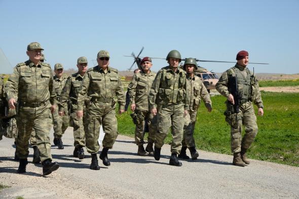 Genelkurmay Başkanı'ndan Süleyman Şah ziyareti