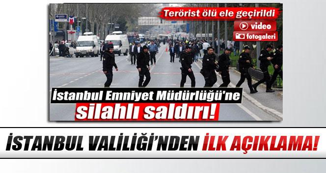 İstanbul Valiliği'nden saldırı açıklaması