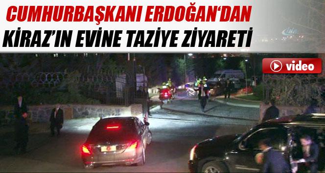 Cumhurbaşkanı Erdoğan'dan Şehit Savcı'nın evine taziye ziyareti