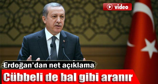 Erdoğan: 'Cübbeli de bal gibi aranır diyeceğiz'