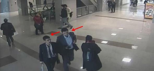 Teröristler adliyeye böyle girdi!