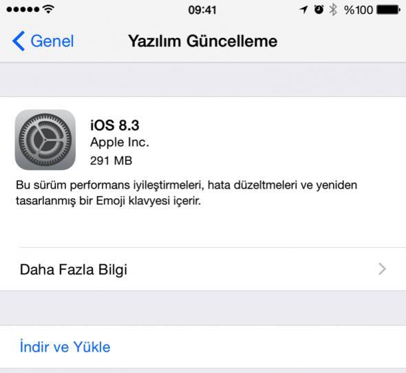 iOS 8.3 yayınlandı: Merhaba Türkçe Siri