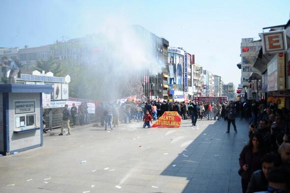 Bakırköy'de 'Grup Yorum' gerginliği