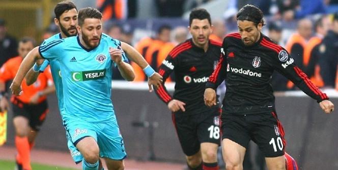 Kasımpaşa Beşiktaş maçından kareler