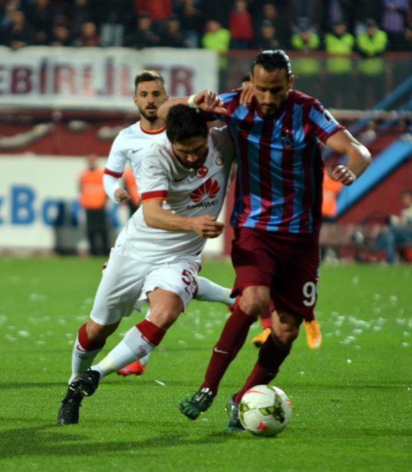 Trabzonspor Galatasaray'ı 2-1 mağlup etti