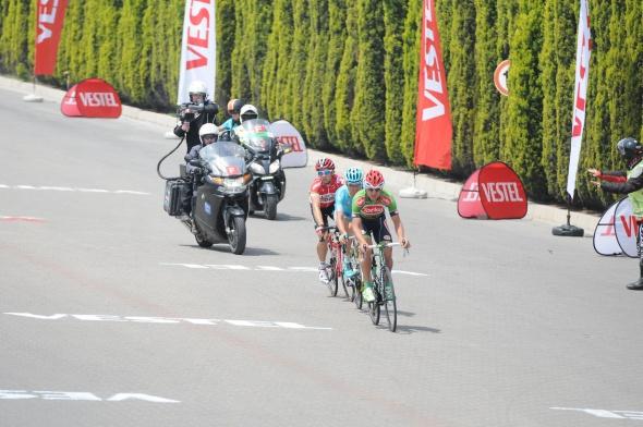 Cumhurbaşkanlığı Bisiklet Turu'nda bir ilk