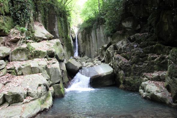 Doğa harikası Kayalıdere şelalesi turizme açılmayı bekliyor